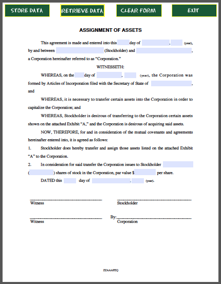 Assignability of contracts