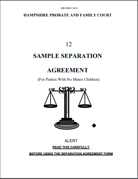 Separation Agreement Template 17