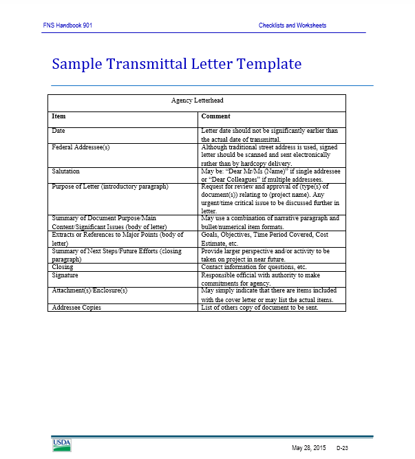 letter of transmittal template 26
