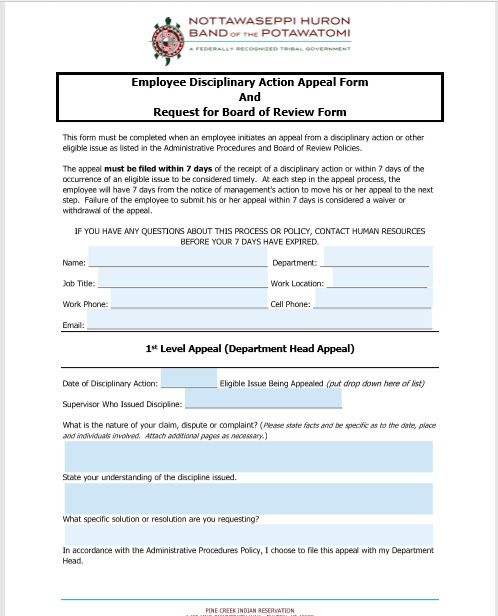 employee write up form 03