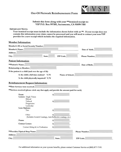 23 Free Office Expense Reimbursement Forms Free Fillable Pdf Forms