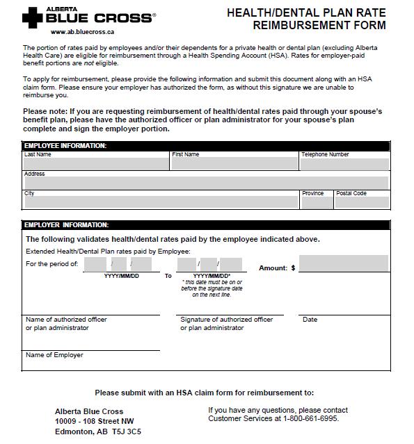 expense reimbursement form 11