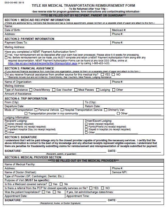 expense reimbursement form 22