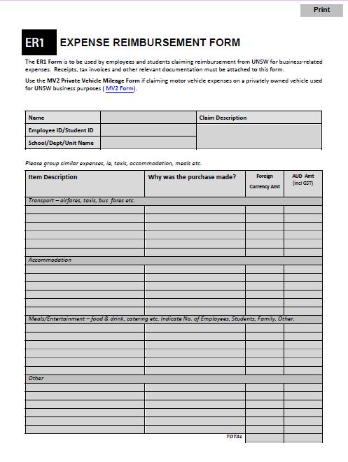 expense reimbursement form 23