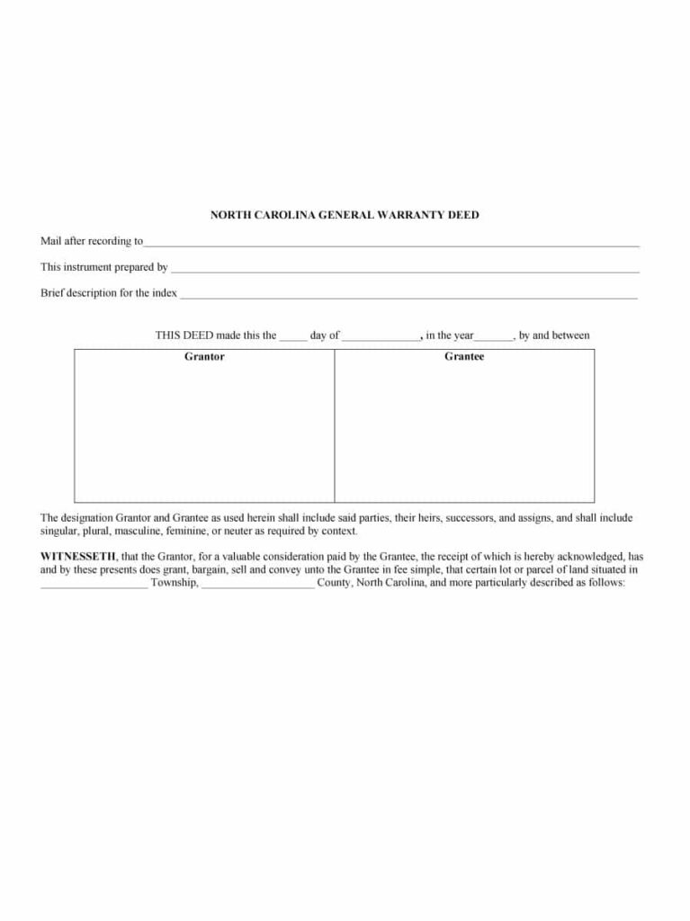 warranty deed template 11