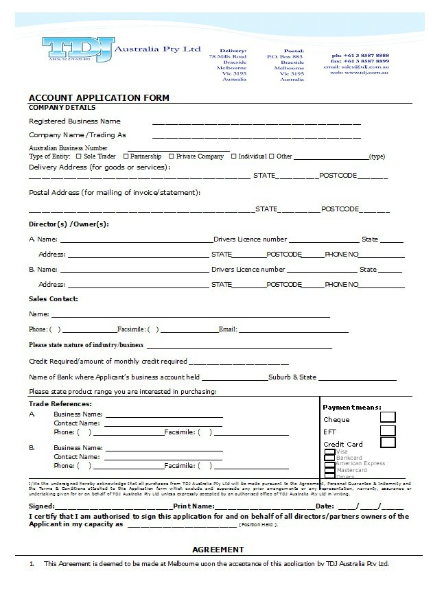 Credit Application Form 23
