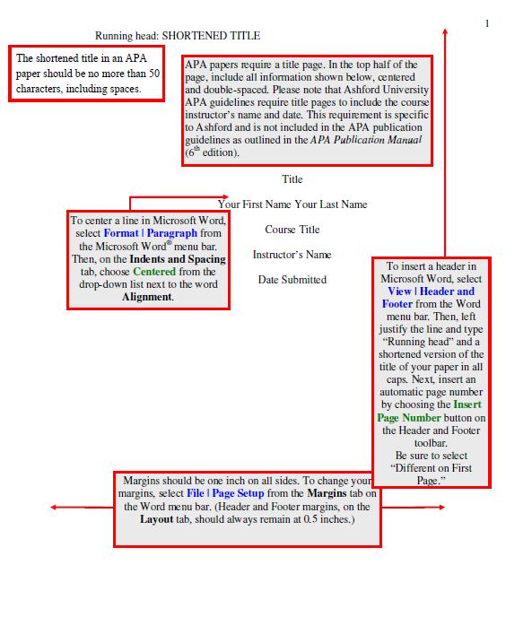 apa format template 12