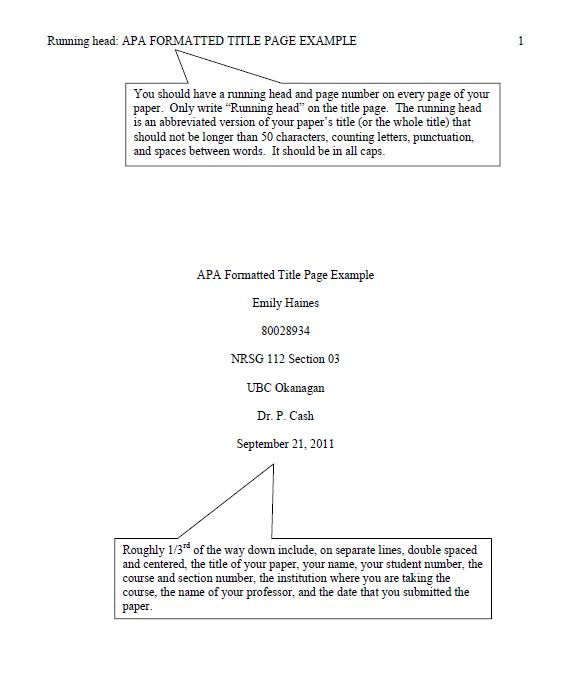 apa format template 18