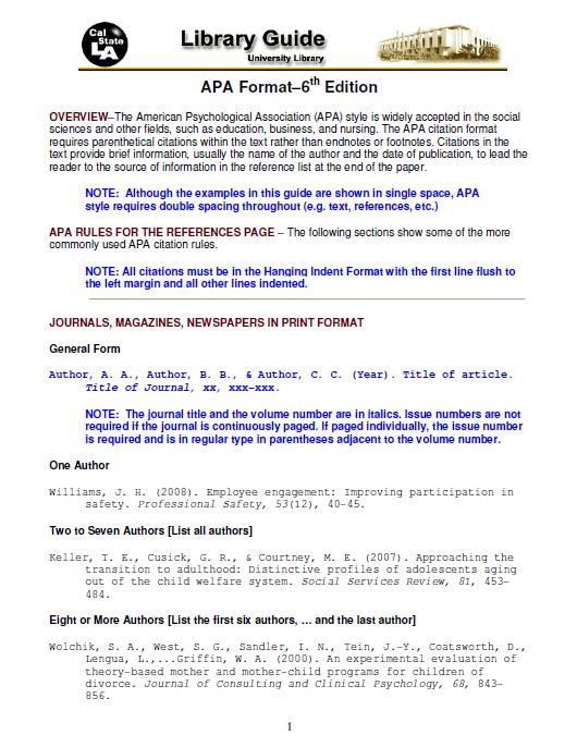 apa format template 29