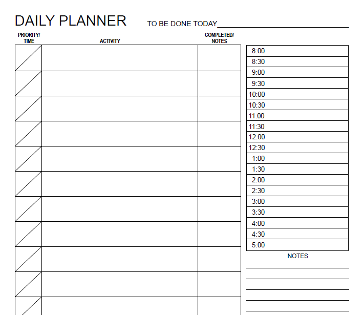 daily planner template 08
