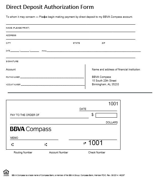 Direct Deposit Authorization Form 15