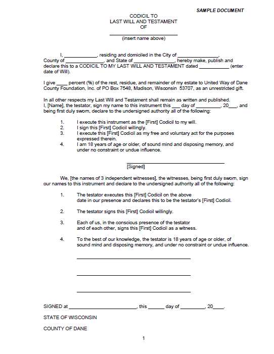 Last will and Testament template 12